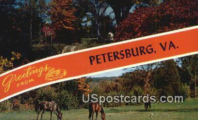 Petersburg, VA Postcard       ;         Petersburg, Virginia