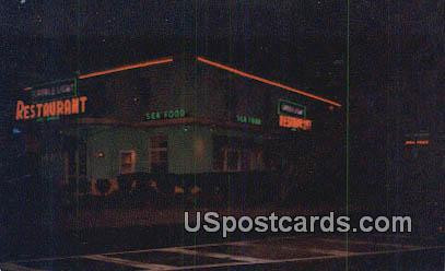 Candle Light Restaurant - Ocean View, Virginia VA Postcard