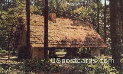 Glasshouse - Jamestown, Virginia VA Postcard