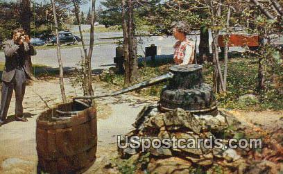 Moonshiner's Still - Skyline Drive, Virginia VA Postcard