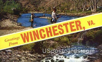 Winchester, Virginia Postcard     ;       Winchester, VA
