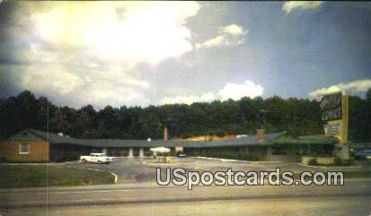Hughes Motor Court Inc - Martinsville, Virginia VA Postcard