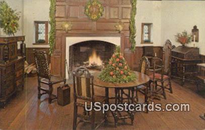 Adam Thoroughgood House 1636-1640 - Virginia Beach Postcards, Virginia VA Postcard
