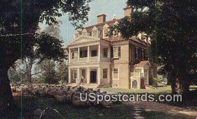 Shirley, a James River Plantation - Charles City County, Virginia VA Postcard