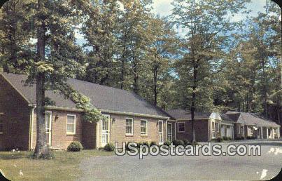 Gateway Motor Lodge - Fairfax, Virginia VA Postcard