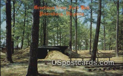 Fort Hell - Petersburg, Virginia VA Postcard