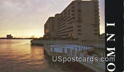 OMNI International Hotel - Norfolk, Virginia VA Postcard