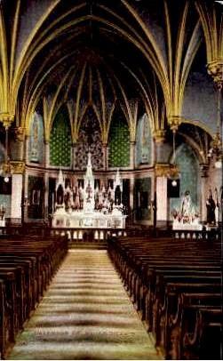 St. Andrews Catholic Church - Roanoke, Virginia VA Postcard