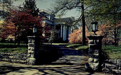 J. B. Fishburne Home - Roanoke, Virginia VA Postcard
