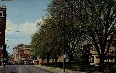 Downtown Roanoke - Virginia VA Postcard