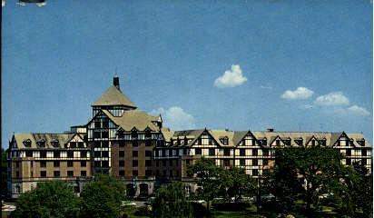 Roanoke Hotel - Virginia VA Postcard