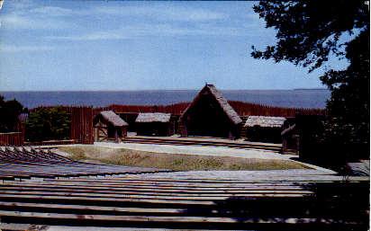 Waterside Theatre - Misc, Virginia VA Postcard