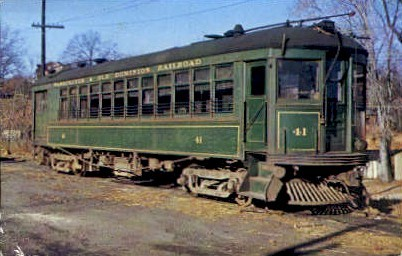 Washington And Old Dominion Railroad - Rosslyn, Virginia VA Postcard