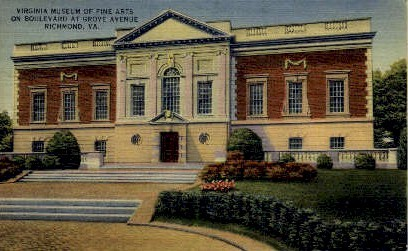 Viginia Museum Of Fine Arts - Richmond, Virginia VA Postcard