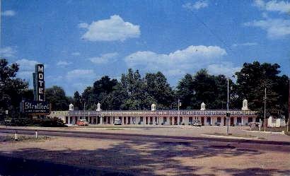 Motel Stratford - Richmond, Virginia VA Postcard