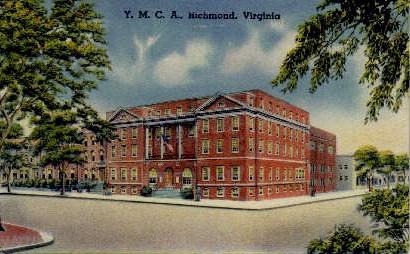 Y. M. C. A. - Richmond, Virginia VA Postcard