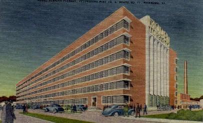 Model Tabacco Factory - Richmond, Virginia VA Postcard