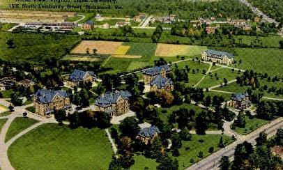 Aerial View - Richmond, Virginia VA Postcard