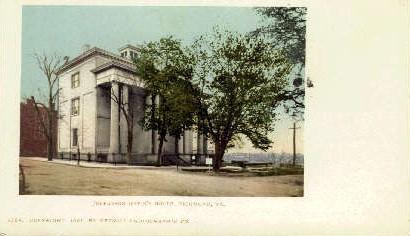 Jefferson Davis's House - Richmond, Virginia VA Postcard