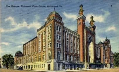 The Mosque - Richmond, Virginia VA Postcard
