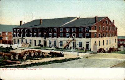 Libby Prison - Richmond, Virginia VA Postcard