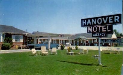 Hanover Motel - Richmond, Virginia VA Postcard