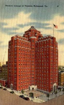 Medical College of Virginia - Richmond Postcard