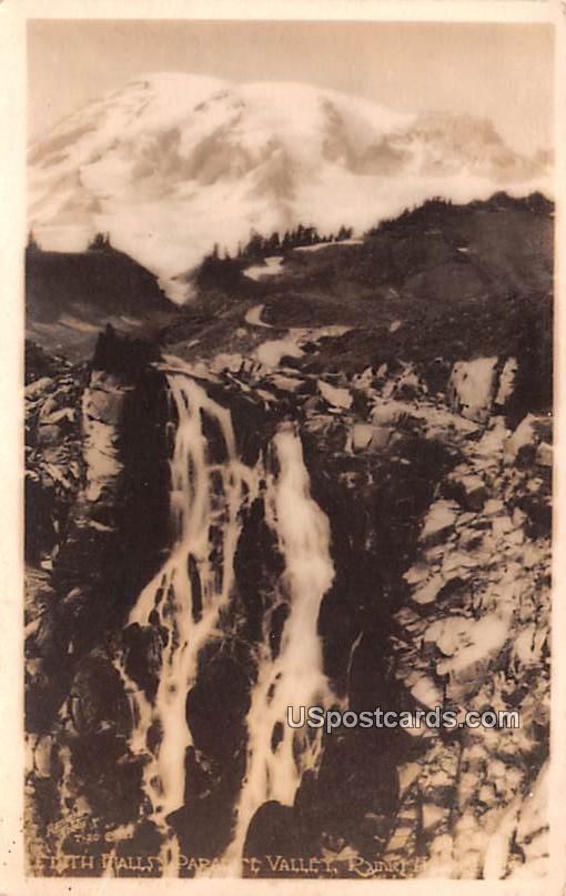 Edith Falls - Rainier National Park, Virginia VA Postcard