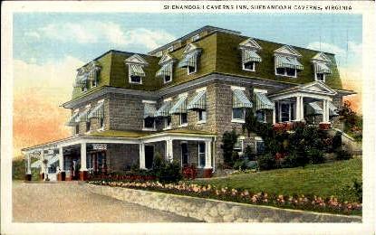 Shenandoah Caberns Inn - Shenandoah Caverns, Virginia VA Postcard