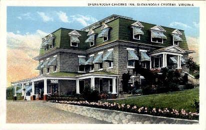 Shenandoah Caverns Inn - Virginia VA Postcard