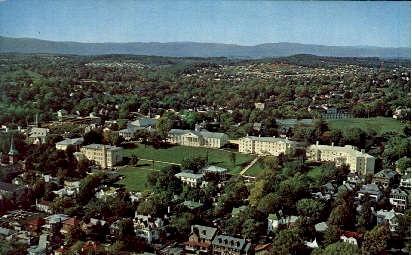 Home Of Mary Baldwin - Staunton, Virginia VA Postcard
