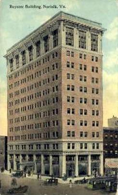 Royster Building - Norfolk, Virginia VA Postcard
