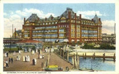 Chamberlin Hotel - Point Comfort, Virginia VA Postcard
