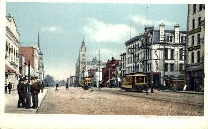 Broad Street - Richmond, Virginia VA Postcard