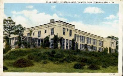 Club House - Virginia Beach Postcards, Virginia VA Postcard