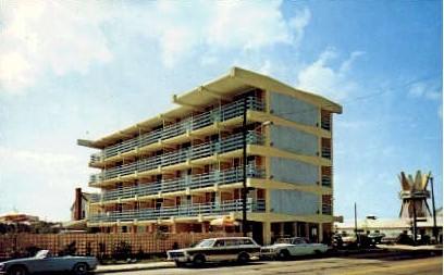 Golden Sands Motel - Virginia Beach Postcards, Virginia VA Postcard