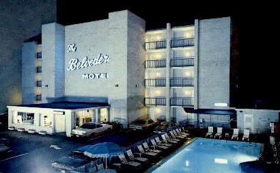 Belvedere Resort Hotel - Virginia Beach Postcards, Virginia VA Postcard