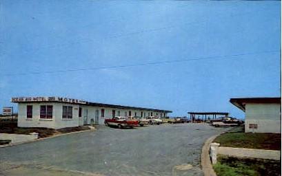Ocean Air Motel - Virginia Beach Postcards, Virginia VA Postcard