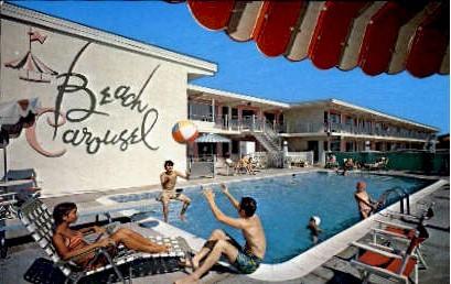 Beach Carousel - Virginia Beach Postcards, Virginia VA Postcard