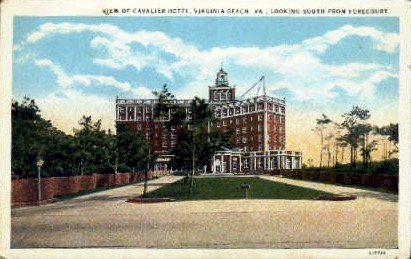 Cavalier Hotel - Virginia Beach Postcards, Virginia VA Postcard