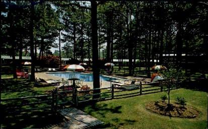 Golf Ranch Motel - Virginia Beach Postcards, Virginia VA Postcard