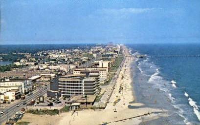 Beach Resort - Virginia Beach Postcards, Virginia VA Postcard
