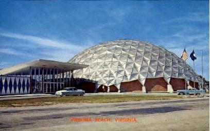 Convention Center - Virginia Beach Postcards, Virginia VA Postcard