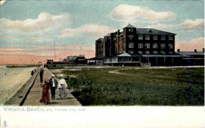 Princess Anne Hotel - Virginia Beach Postcards, Virginia VA Postcard