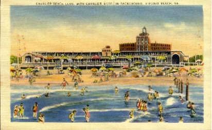 Cavalier Beach Club - Virginia Beach Postcards, Virginia VA Postcard