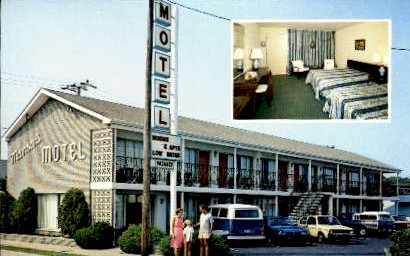 Manson's Motel - Virginia Beach Postcards, Virginia VA Postcard