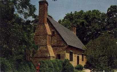 The Adam Thoroughgood House - Virginia Beach Postcards, Virginia VA Postcard