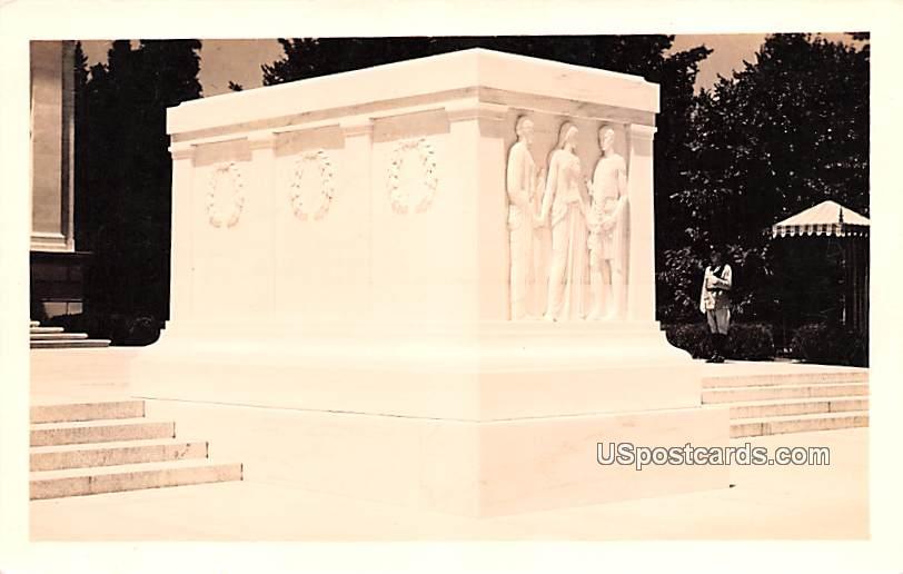 Tomb of the Unknown Soldier - Washington DC, Virginia VA Postcard