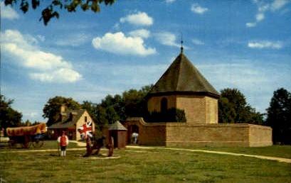 Magazine And Guard House - Williamsburg, Virginia VA Postcard