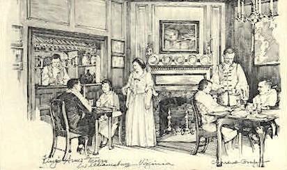 King's Arms Tavern - Williamsburg, Virginia VA Postcard
